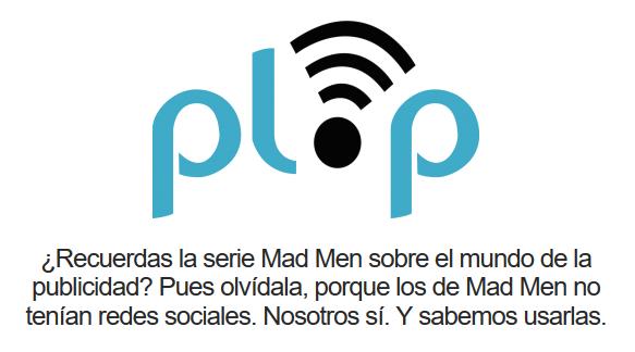 Ejemplo de eslogan - Agencia Plop