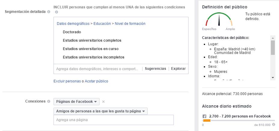Anuncios FB - Paso 2