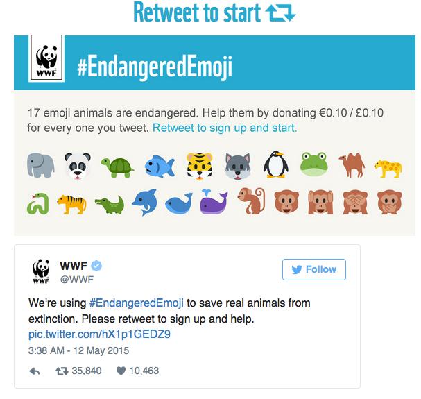 Campaña de WWF
