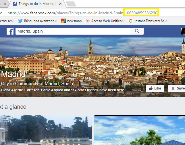 ID de Madrid en FB