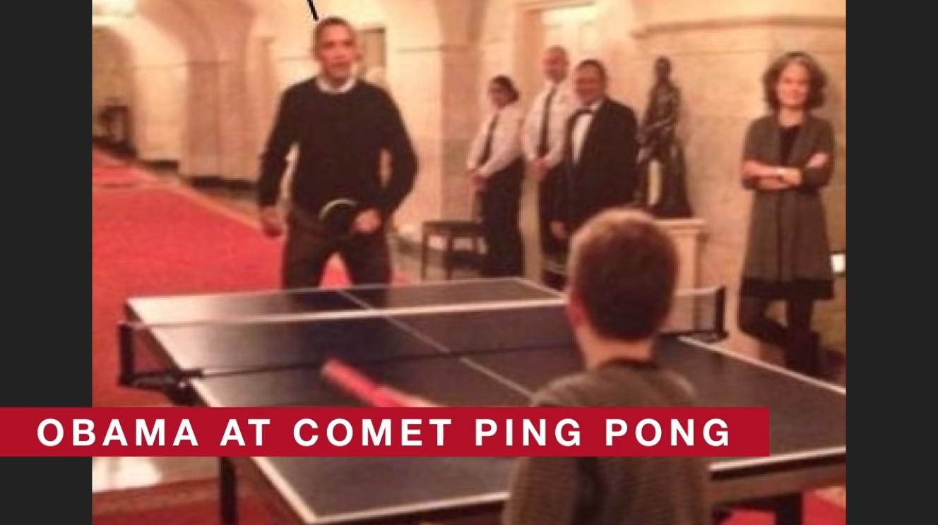 Imagen que se utilizó para vincular a Obama con el bulo Pizzagate.