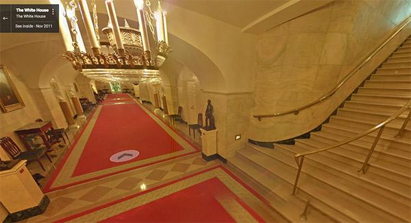 La Casa Blanca (Imagen: Google Street View)